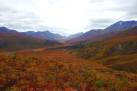 "Tombstone Valley Photo for ""Autumn Fire"" poem by Winluck Wong, NB freelance writer"