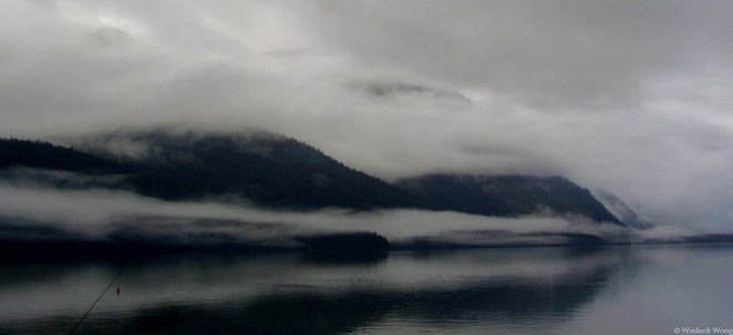 "Haines photo for ""Lakeside"" poem by New Brunswick writer, Winluck Wong"