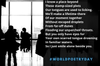 """Small Talk"" poem by New Brunswick freelance writer Winluck Wong on World Poetry Day 2019"