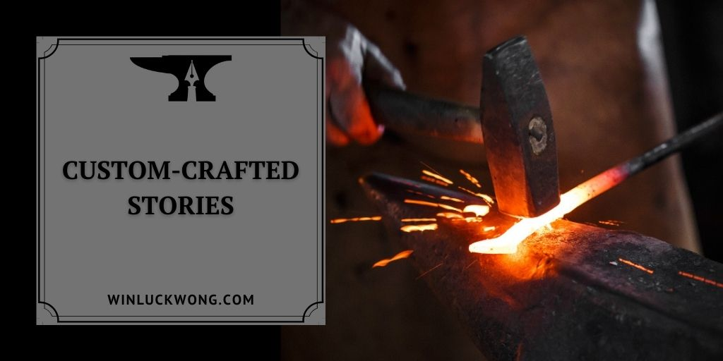 Custom-crafted stories banner for Winluck Wong, New Brunswick Freelance Writer