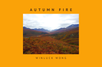 """Youtube thumbnail for """"Autumn Fire"""" poem video by Winluck Wong, New Brunswick blogger."""