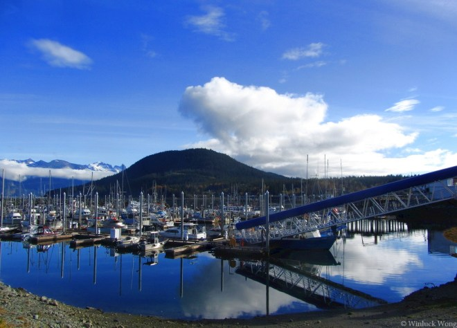 """Haines photo for """"Dawn"""" poem by fiction writer, Winluck Wong, based in New Brunswick"""