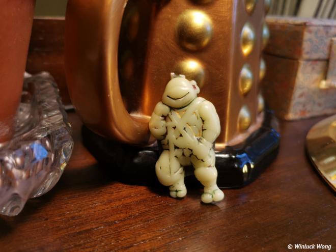 "Ninja Turtles keychain birthday gift photo for ""Embrace Change"" speech and blog post by NB copywriter, Winluck Wong"
